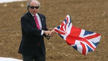 Sir Jackie Stewart, Silverstone Grand Prix Circuit launch, 29.04.2010