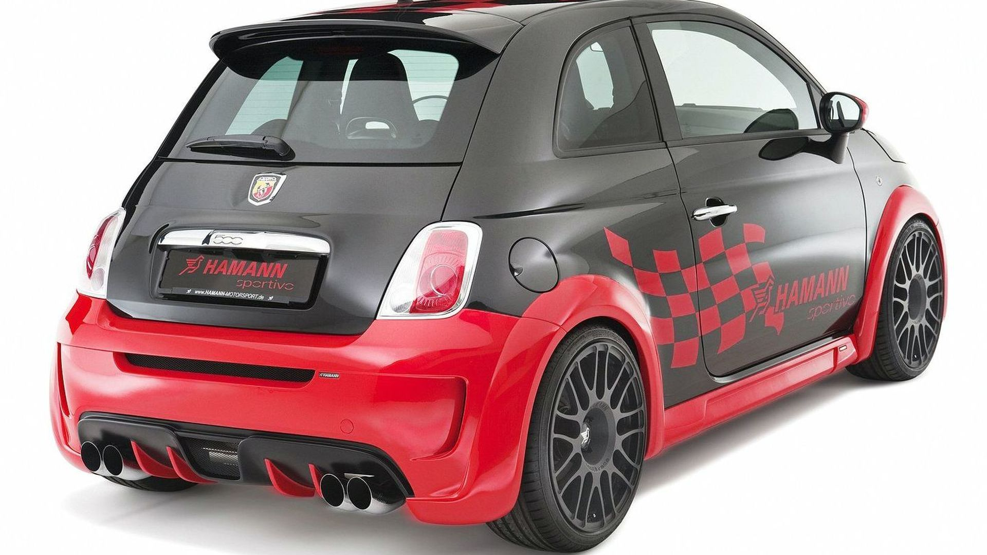 Fiat 500 Abarth and Abarth esseesse by Hamann