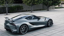 Toyota reveals FT-1 Vision GT and FT-1 with Graphite paint [video]