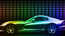 Dodge introduces the Viper GTC, offers more than 25 million design combinations