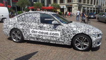Jaguar promoting 2015 XE by … camouflaging BMW 3-Series in Germany