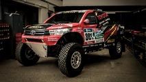 Toyota Gazoo reveals radical Hilux Evo ahead of 2017 Dakar Rally