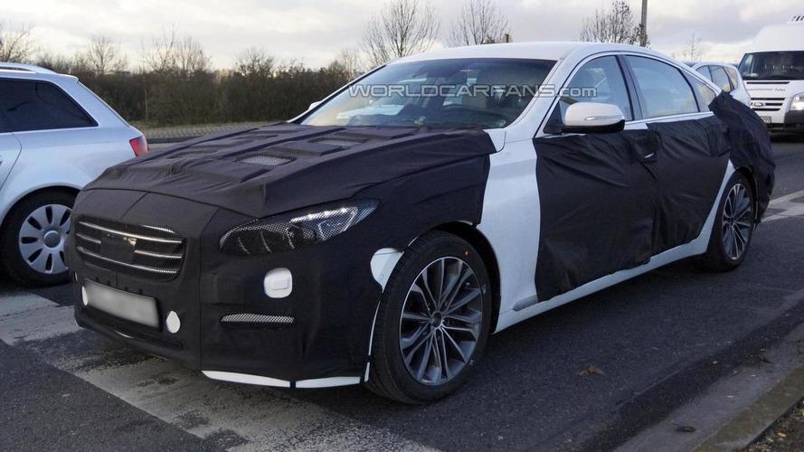 2014 Hyundai Genesis Sedan spied