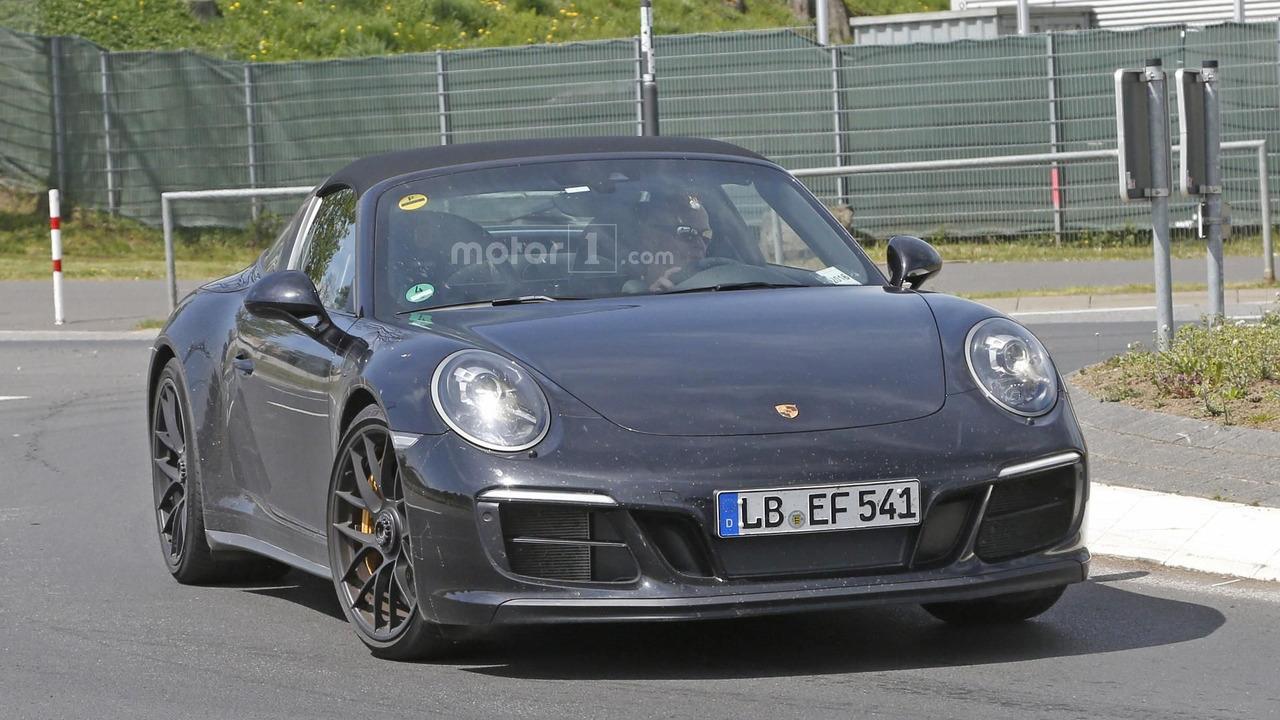 2017 Porsche 911 Targa 4 Gts Spotted Undisguised