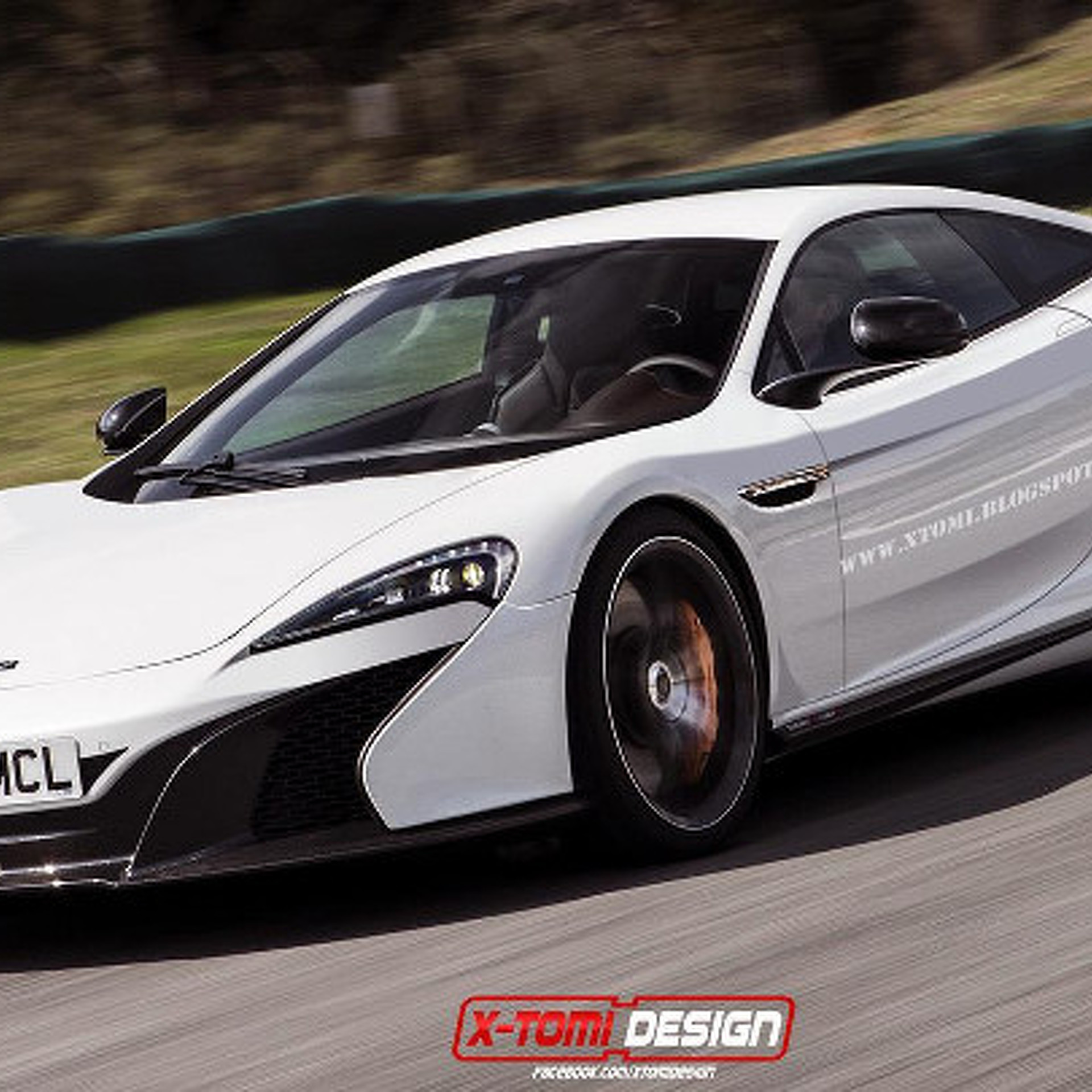 Entry-Level McLaren P13 Rendered and Looking Handsome