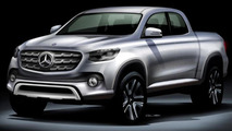 Mercedes confirms their pickup will be built by Nissan