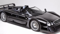 Unused 1999 Mercedes-Benz CLK GTR Roadster heading to auction block