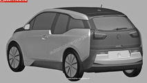 BMW i3 production fully revealed in patent drawings