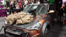 Hyundai Veloster Zombie Survival Machine at San Diego Comic-Con 20.07.2013