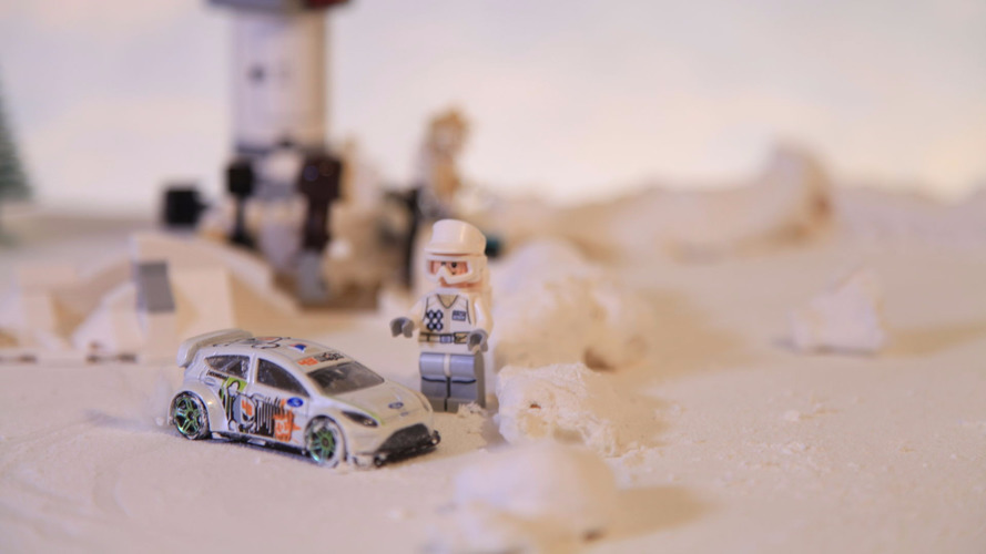 Snowkhana parody filled with Lego and Hot Wheels is brilliant