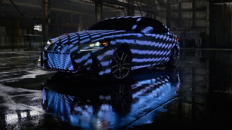 Lexus IS gets 41,999 programmable LEDs for Dua Lipa music video