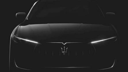 Maserati Levante SUV teased ahead Geneva