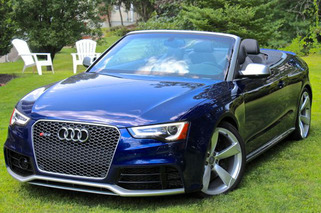 Audi RS5 Cabriolet Review: Fun-in-the-Sun Defier of Physics