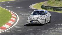 2018 BMW 3 Series spy photos at the Nurburgring