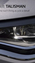 Renault drops two additional teasers for TALISMAN mid-size sedan