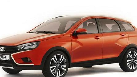 Lada Vesta Cross concept unveiled in Moscow