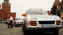 Porsche Transsyberia Rally Starts!