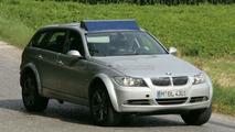 BMW X4 test mule spy photo