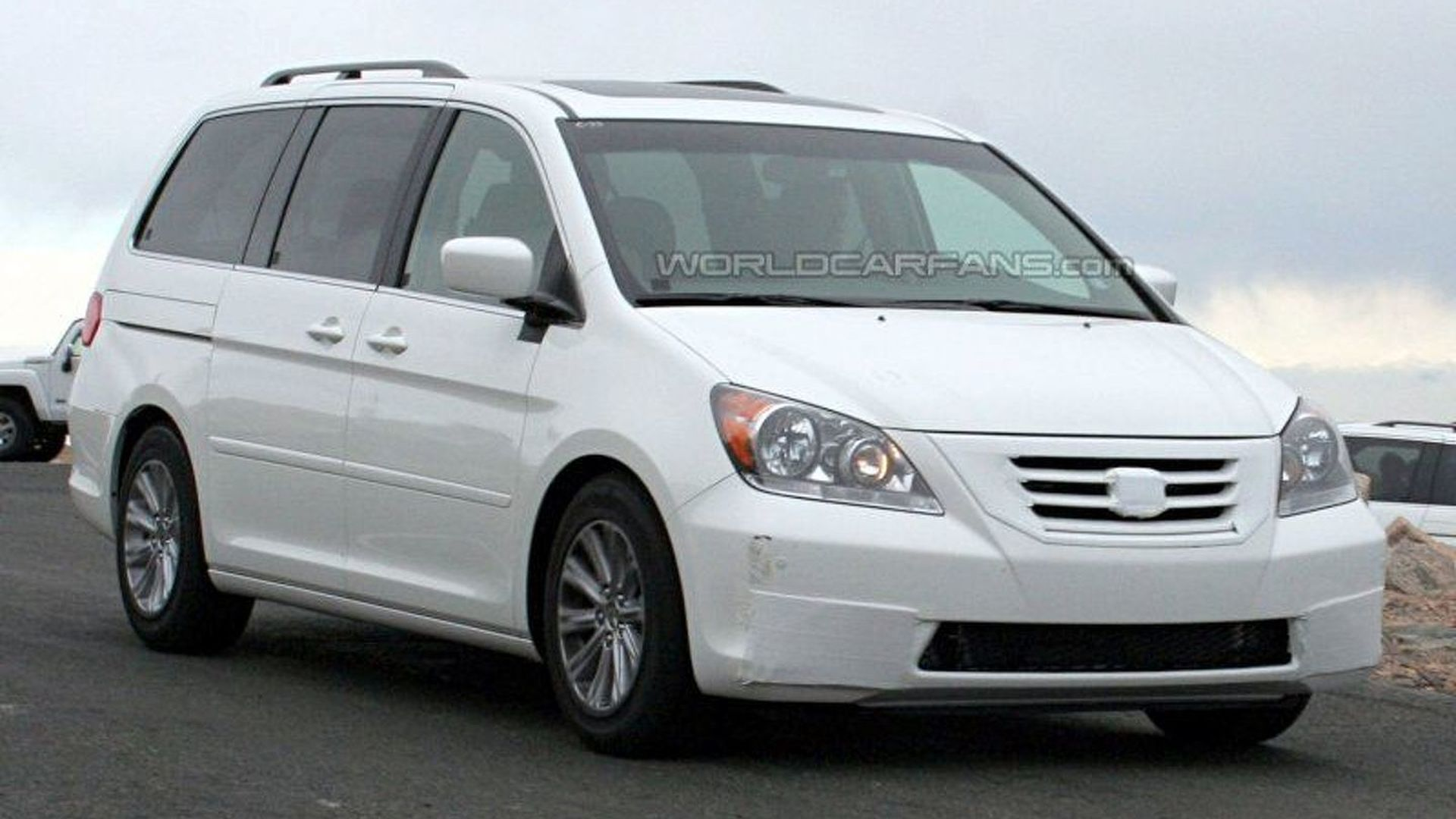 2008 Honda Odyssey Facelift Spotted