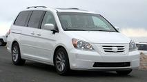 2008 Honda Odyssey Facelift Spy Photo