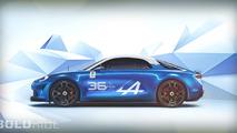 Alpine Celebration 36 Spa-Francorchamps Concept