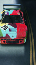 Andy Warhol (USA) 1979 BMW M1 Group 4 Race Version art car - 1600