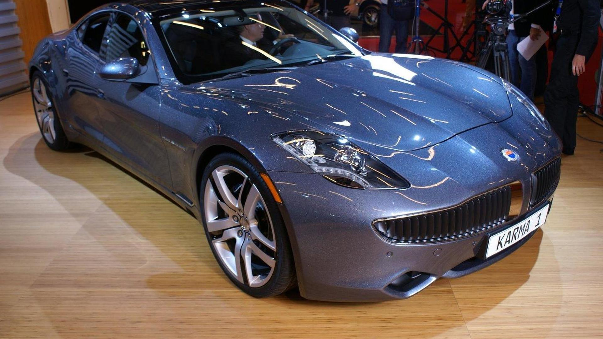 Fisker Karma gets a massive price hike