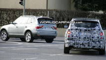 Next Generation BMW X3 Spied Next to Current Model