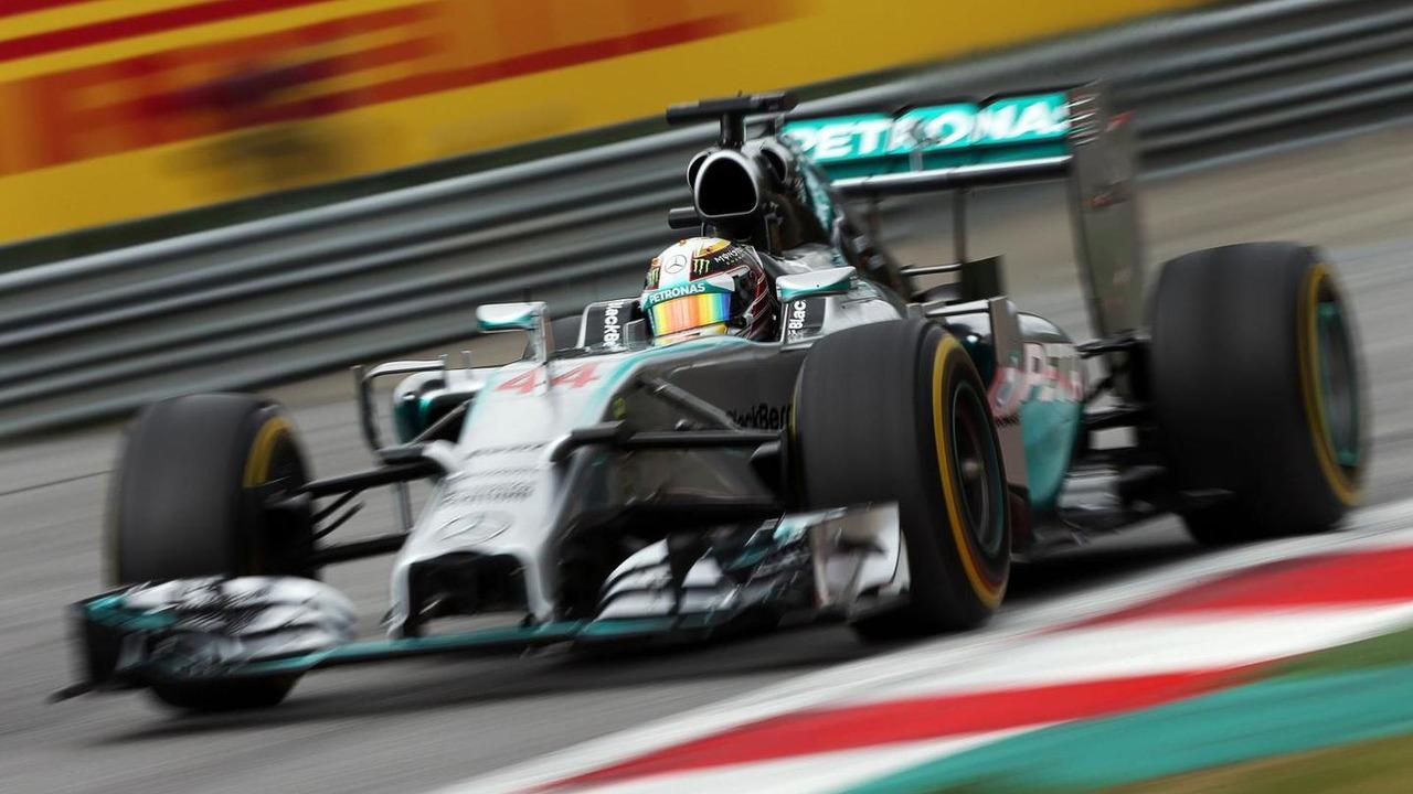 Lewis Hamilton (GBR), 21.06.2014, Austrian Grand Prix, Spielberg, Austria / XPB
