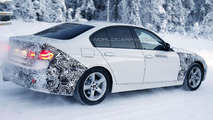 2016 BMW 3-Series hybrid spy photo