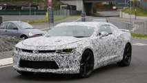 2016 Chevrolet Camaro spy photo modified by adding the headlight from eBay