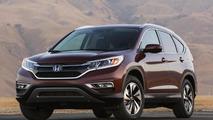 2015 Honda CR-V officially unveiled