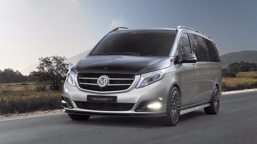 Mercedes V-Class by Mansory is a first-class lounge for the road