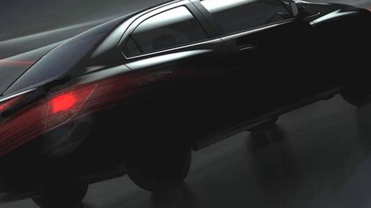 Chevrolet Prisma sedan teaser photo