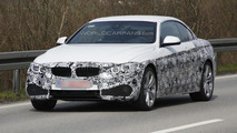 BMW 4-Series Convertible shows metal roof in latest spy shots