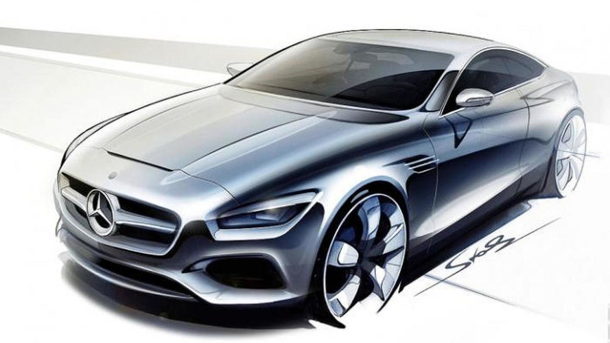 Mercedes-Benz S-Class Coupe sketches leaked ?