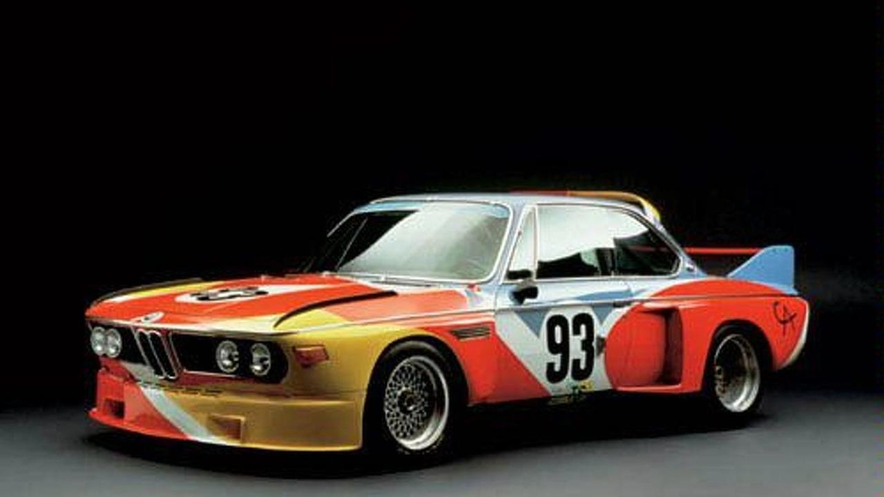 Alexander Calder, Art Car, 1975 - BMW 3.0 CSL