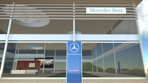 Mercede Virtual Brand World in Second Life
