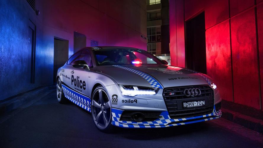 Audi S7 Sportback reporting for police duty in Australia