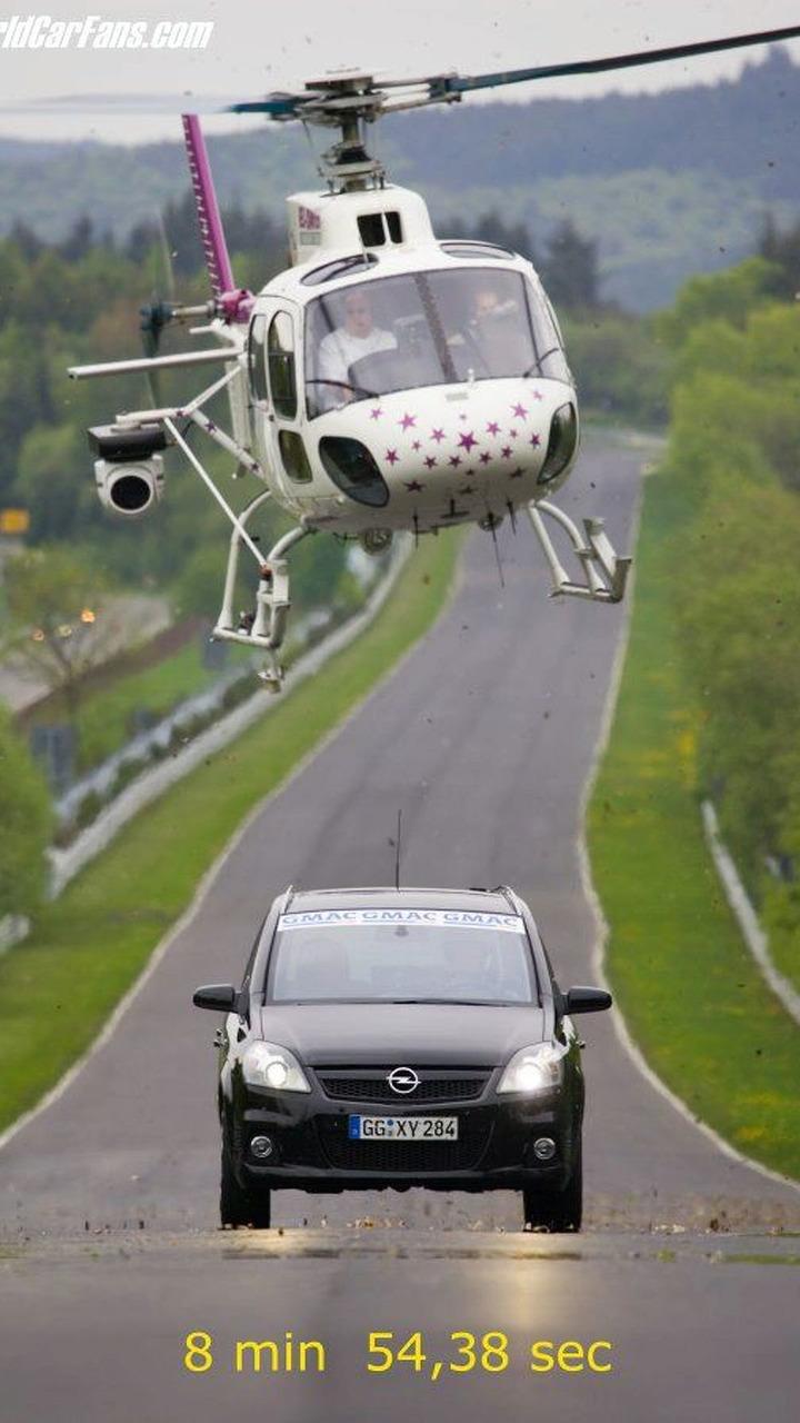 Opel Zafira OPC Sets Lap Record