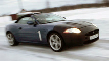 Jaguar XKR Cabrio and Coupe Spy Photos