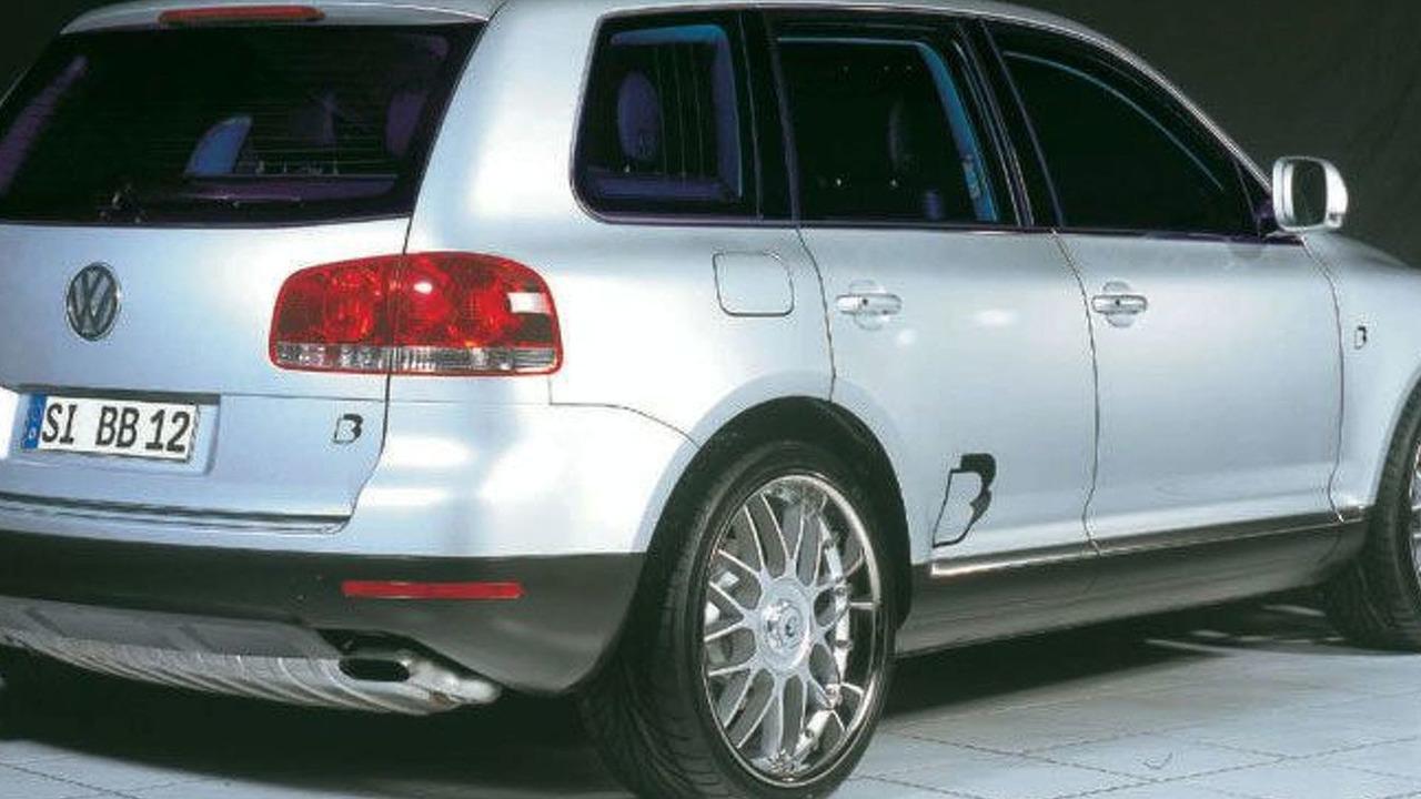B&B tuned VW Touareg
