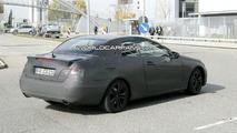 2009 Mercedes CLK / E-Class Coupe Convertible Spied