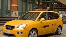 The Next New York Taxi Cab - New Kia Rondo