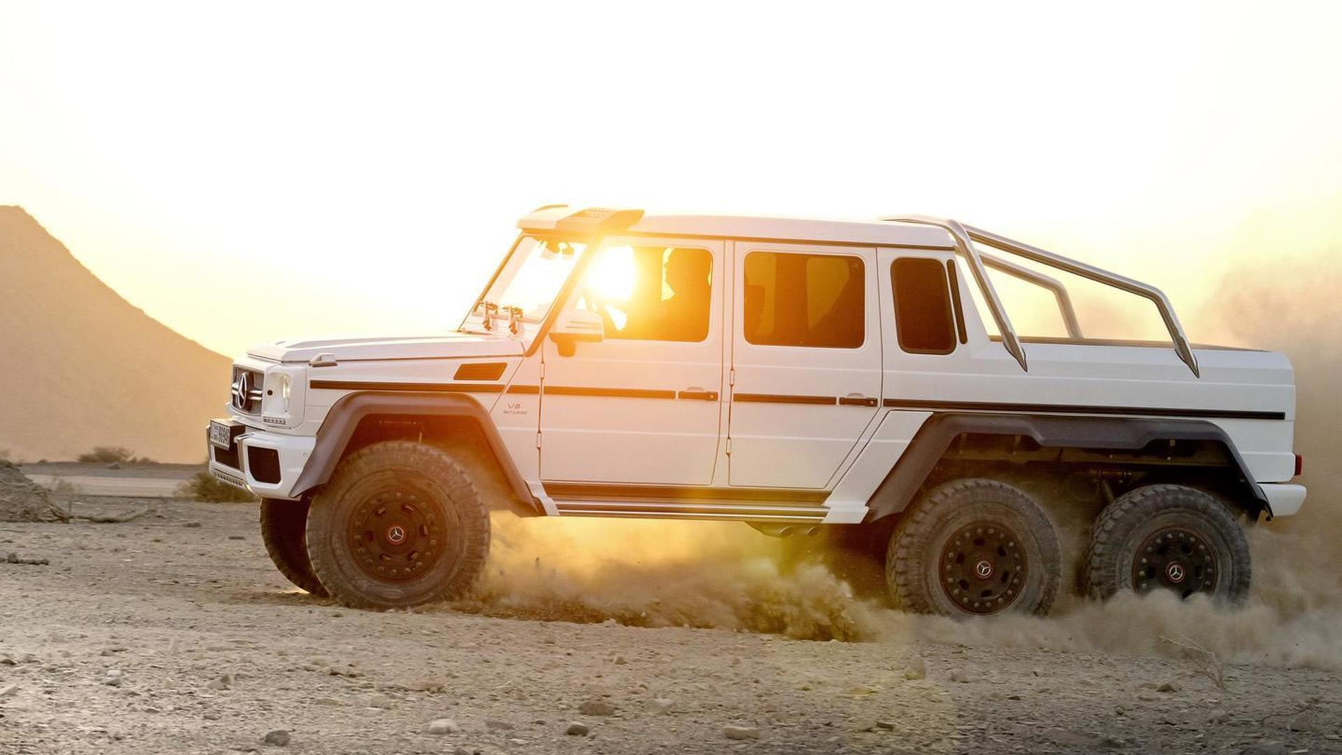 2015 Mercedes-Benz G63 AMG 6x6 priced from 456,900 EUR