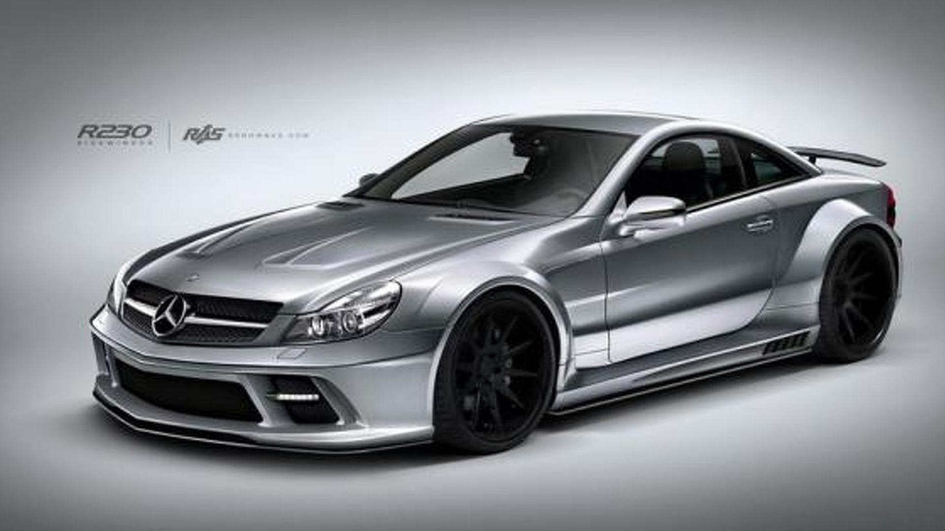 Renown Auto Style launches body kit for previous Mercedes-Benz SL