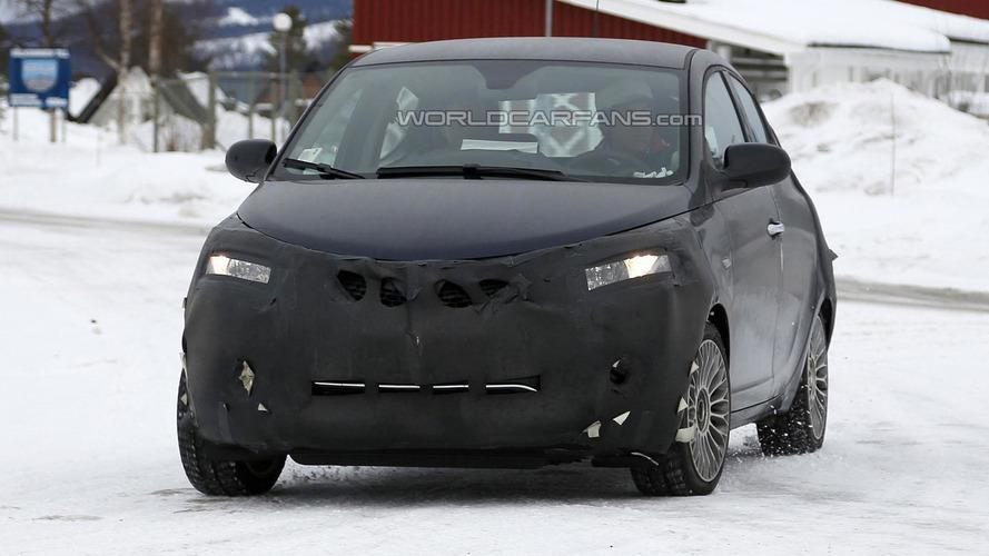 Lancia Ypsilon facelift spied showing minor changes