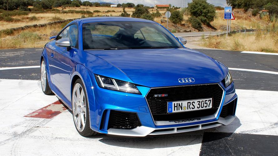 First Drive 2017 Audi Tt Rs