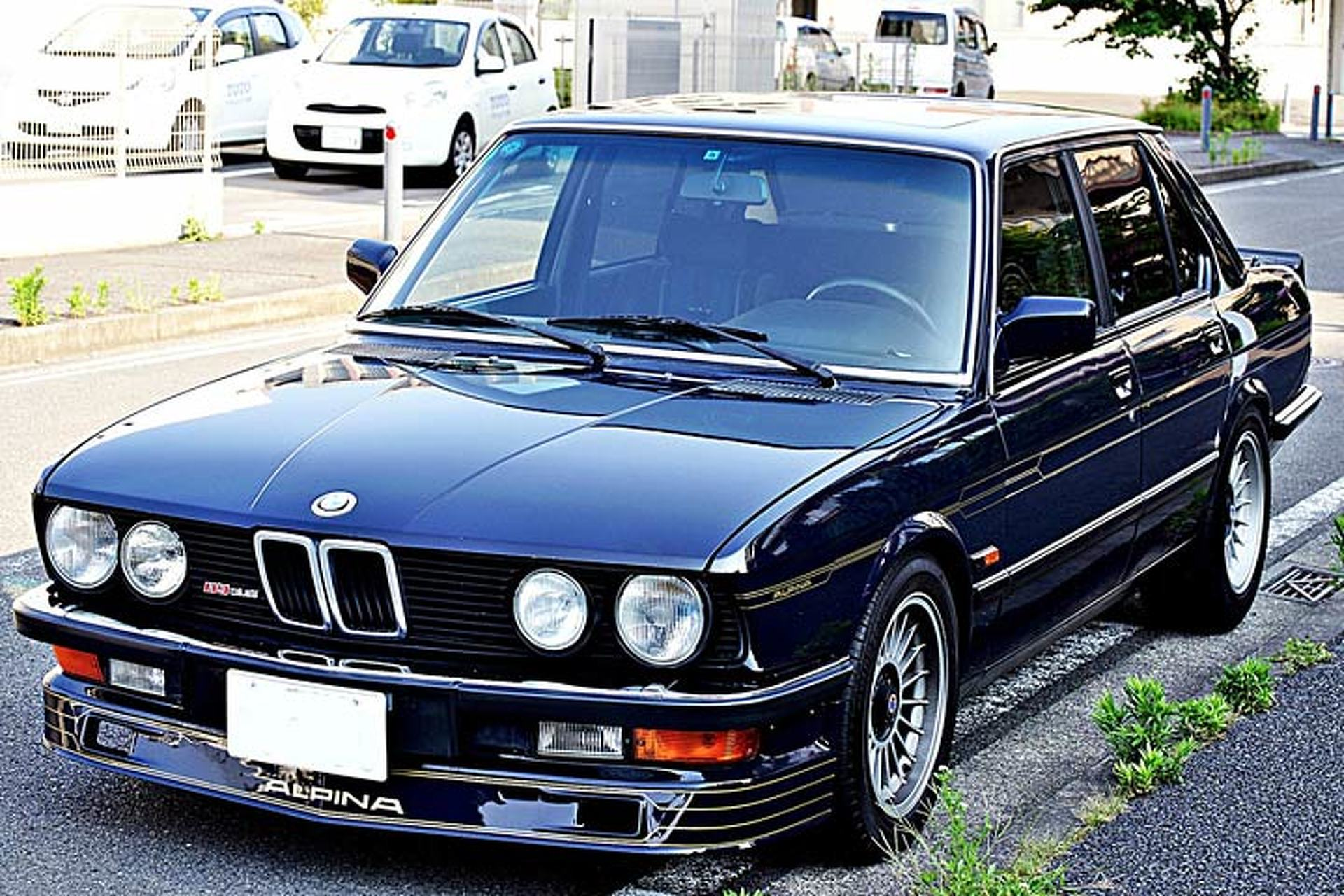 This 1983 Alpina B9 is a Rare Alternative to the BMW M5