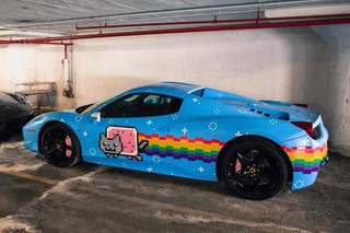 Ferrari Tells Deadmau5 to Get Rid of His Purrari 458